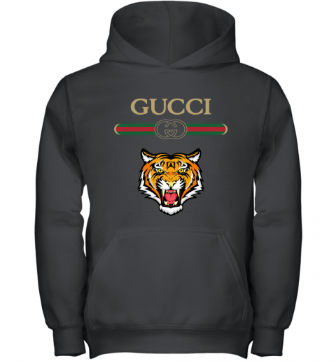 Gucci Logo With Tiger Youth Hoodie