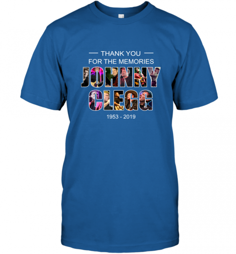 Thank you for the memories Johnny Clegg 1953 2019 T-Shirt 4
