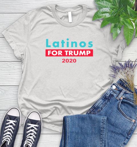 Latinos Trump 2020 Women's T-Shirt