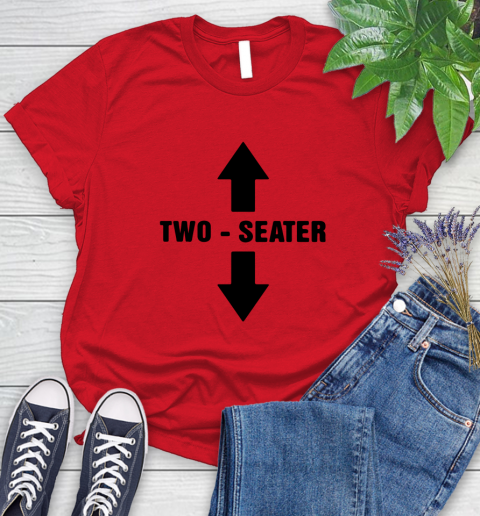 Two Seater Women's T-Shirt 9