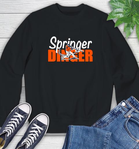 Houston Springer Dinger Fan Shirt Sweatshirt