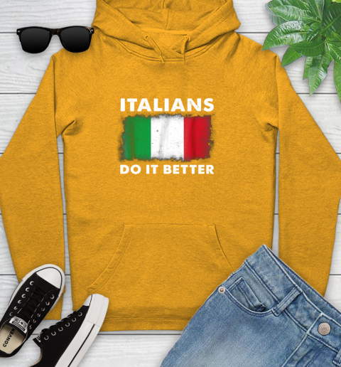 Italians Do It Better Youth Hoodie 2