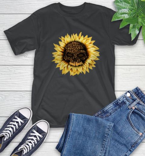 Sunflower Skull Panther T-Shirt 2