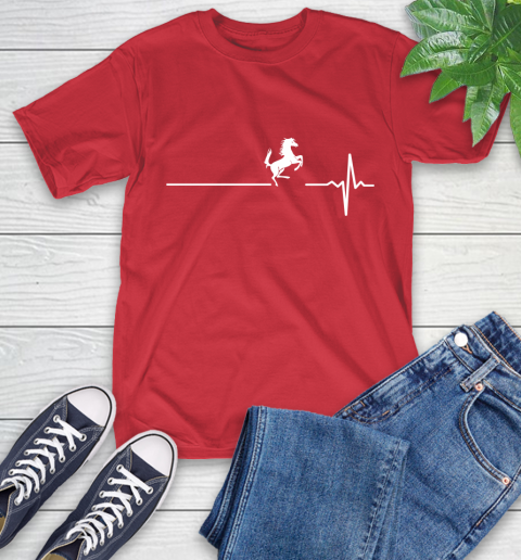 Horse Riding This Is How My Heart Beats T-Shirt 23
