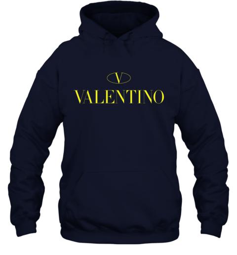 VLTN Valentino Logo Gold Premium Unisex Hoodie