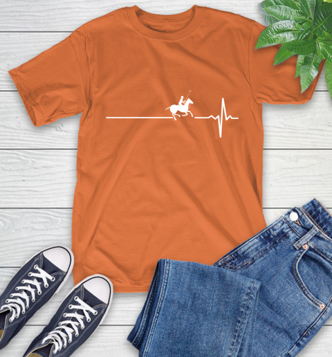 Polo Horse This Is How My Heart Beats T-Shirt 4