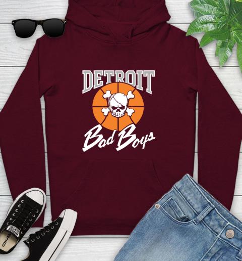 Detroit Bad Boys Youth Hoodie 7