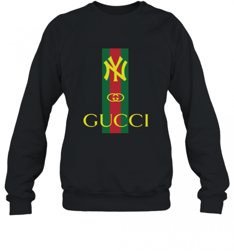 Gucci Logo New York Yankees Sweatshirt
