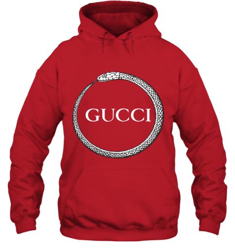 Gucci Ouroboros Print Hoodie