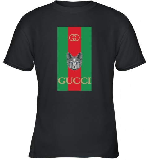 Gucci Logo Wolf Youth T-Shirt
