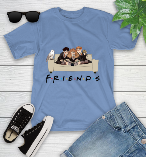 Harry Potter Ron And Hermione Friends Shirt Youth T-Shirt 9
