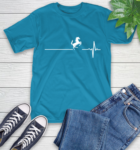 Horse Riding This Is How My Heart Beats T-Shirt 9
