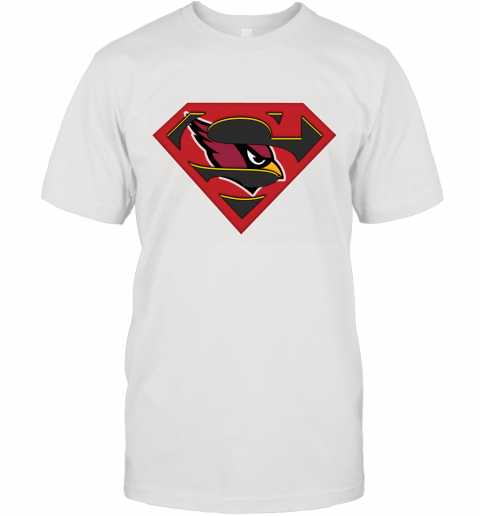 NFL Arizona Cardinals Logo Superman T-Shirt