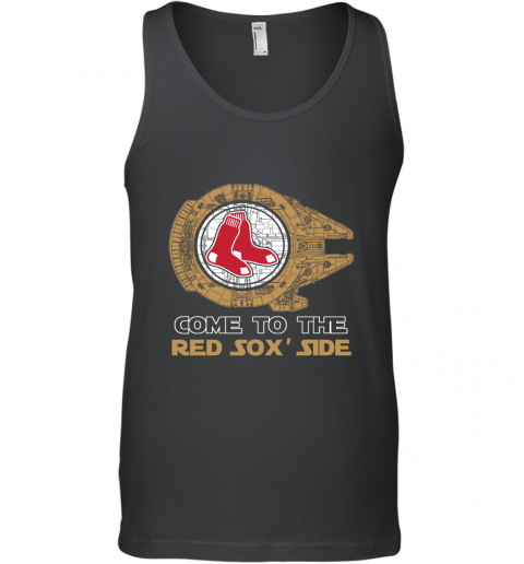 MLB Come To The Boston Red Sox Side Star Wars Baseball Sports Tank Top