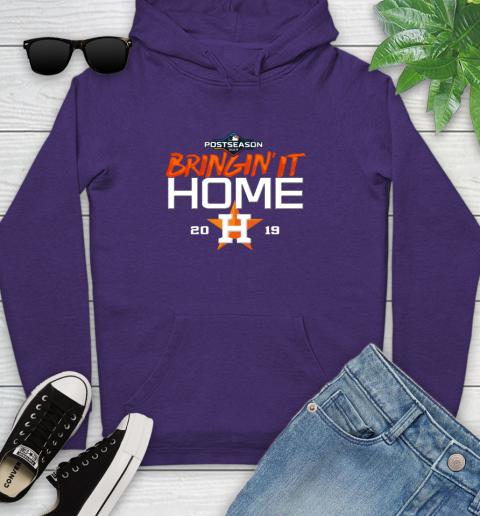 Bringing It Home Astros Youth Hoodie 5