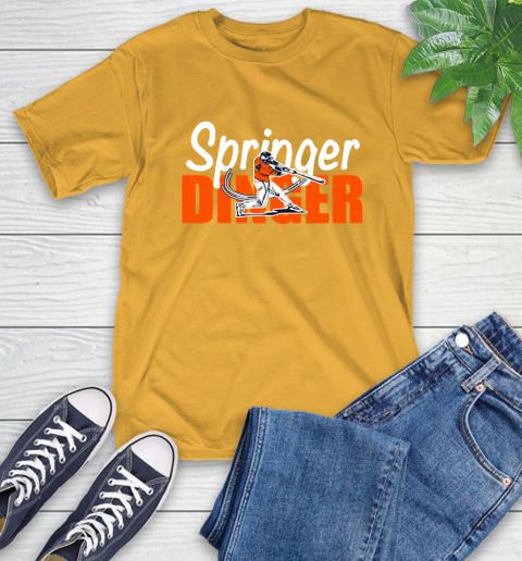 Houston Springer Dinger Fan Shirt T-Shirt 2