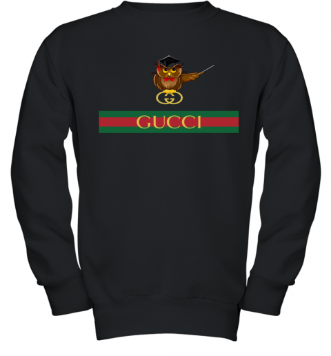 Gucci Logo Owl Premium Youth Sweatshirt