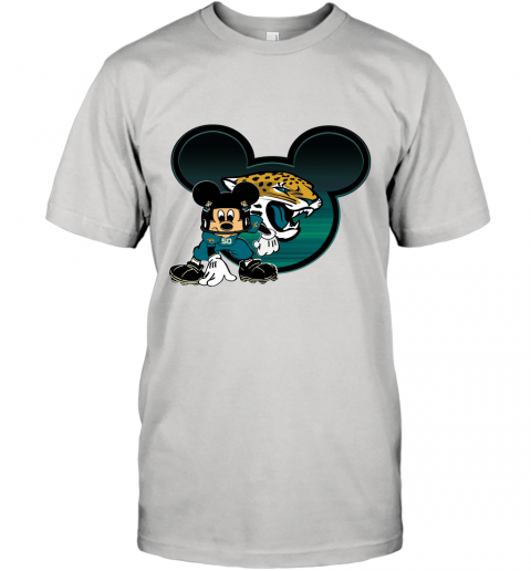 NFL Jacksonville Jaguars Mickey Mouse Disney Football T Shirt T-Shirt