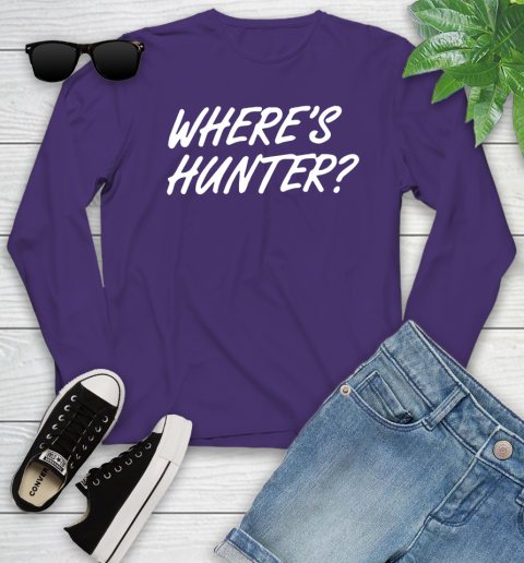 Where Is Hunter Youth Long Sleeve 4