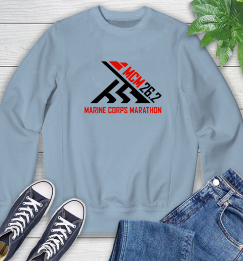 2018 Marine Corps Marathon Sweatshirt 5