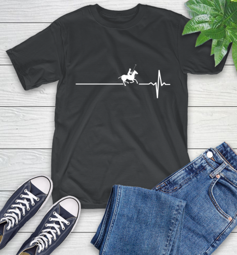 Polo Horse This Is How My Heart Beats T-Shirt