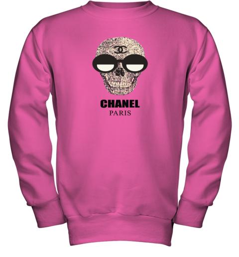 Chanel Fashion Skull Logo Youth Sweatshirt