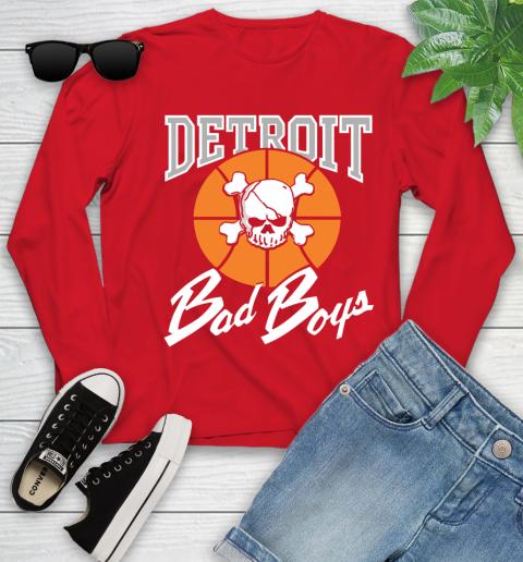 Detroit Bad Boys Youth Long Sleeve 11