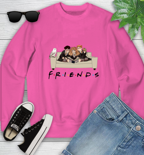 Harry Potter Ron And Hermione Friends Shirt Youth Sweatshirt 3