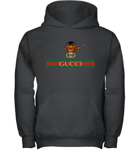 Gucci Logo Owl Premium Youth Hoodie