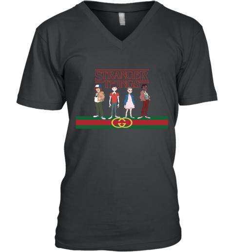 Gucci Stranger Things V-Neck T-Shirt