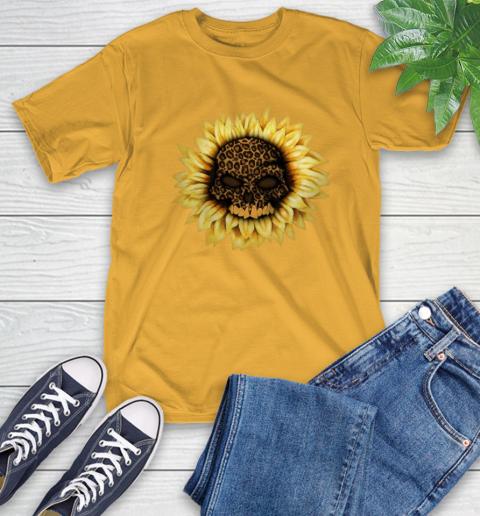 Sunflower Skull Panther T-Shirt 3