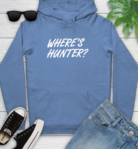 Where Is Hunter Youth Hoodie 13