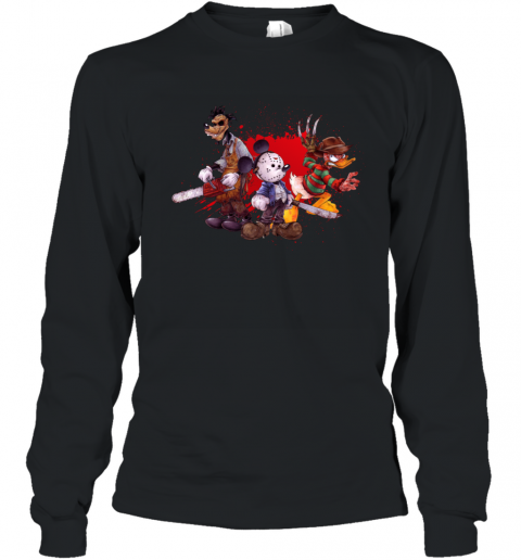 Disney Mickey Mouse Cartoon Long Sleeve T-Shirt