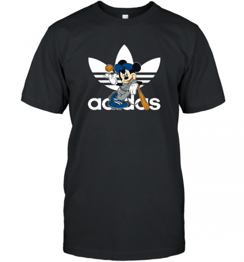 Adidas Logo Baseball Mickey Mouse Disney T-Shirt