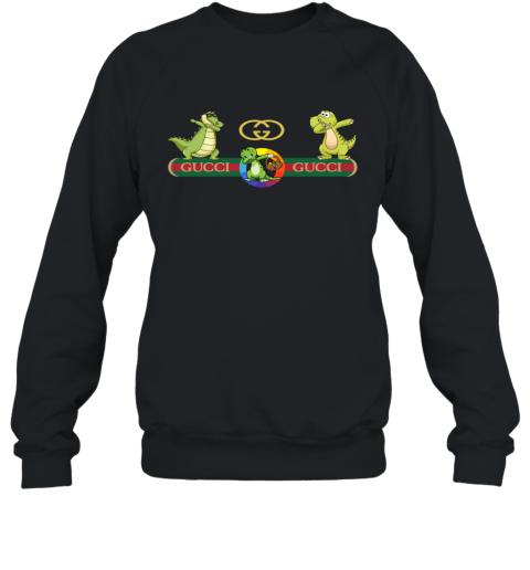 Gucci Logo Dinosaur Dabbing Dance Sweatshirt