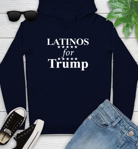 Latinos For Trump Youth Hoodie 3
