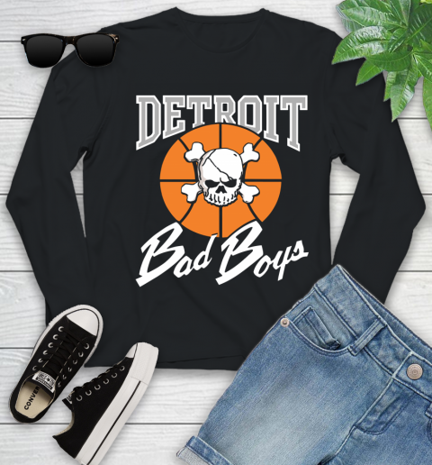 Detroit Bad Boys Youth Long Sleeve