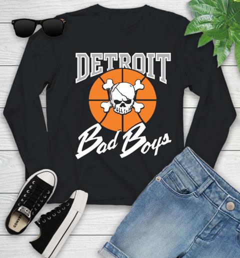 Detroit Bad Boys Youth Long Sleeve 1