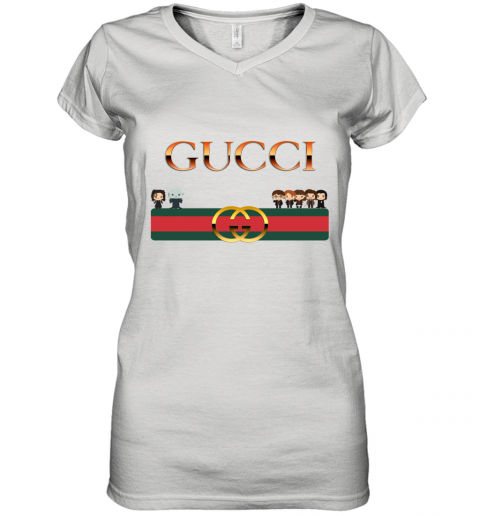 Harry Potter And Gucci Women's V-Neck T-Shirt