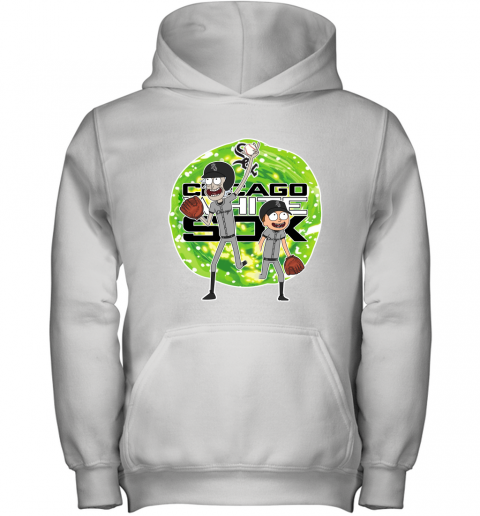 MLB Chicago White Sox Rick And Morty Baseball Sports Youth Hoodie