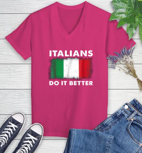 Italians Do It Better Women's V-Neck T-Shirt 9