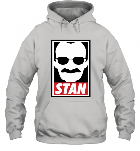 Stan Lee Shirt Marvel Comic Spider Man Our Hero Hoodie