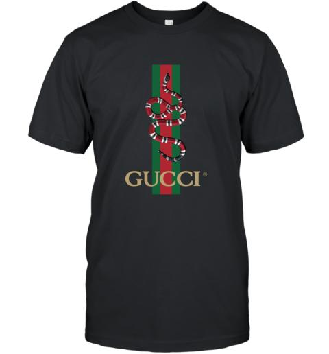 Gucci Logo Snake Polo T-Shirt