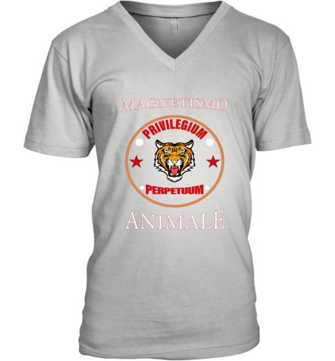 Gucci Magnetismo Animale V-Neck T-Shirt
