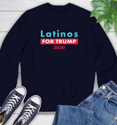 Latinos Trump 2020 Sweatshirt 3