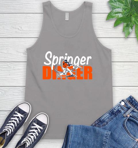 Houston Springer Dinger Fan Shirt Tank Top 3