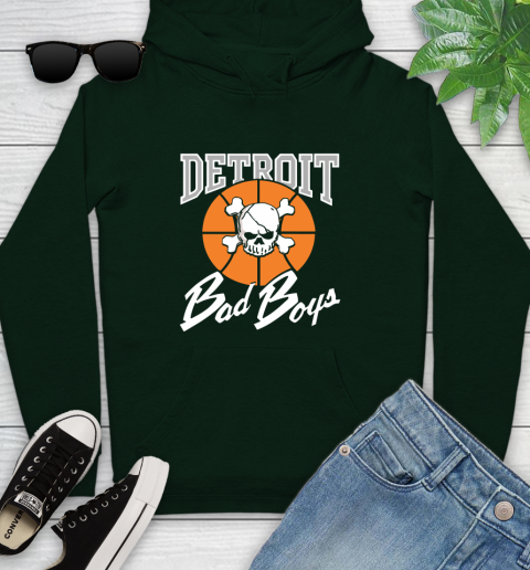 Detroit Bad Boys Youth Hoodie 14
