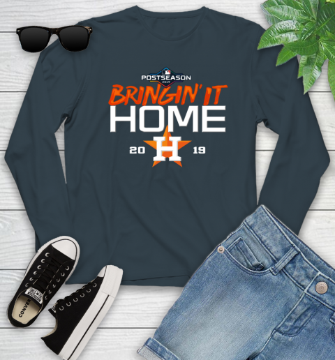Bringing It Home Astros Youth Long Sleeve 9