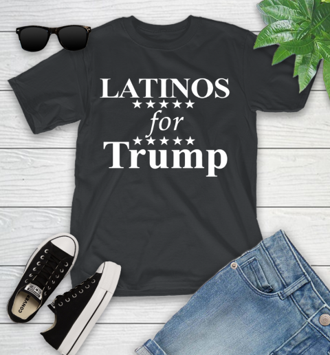 Latinos For Trump Youth T-Shirt 1