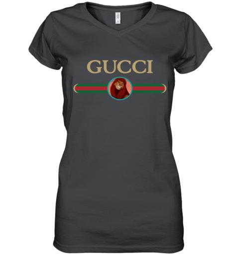 Gucci x Lion King Simba Women's V-Neck T-Shirt